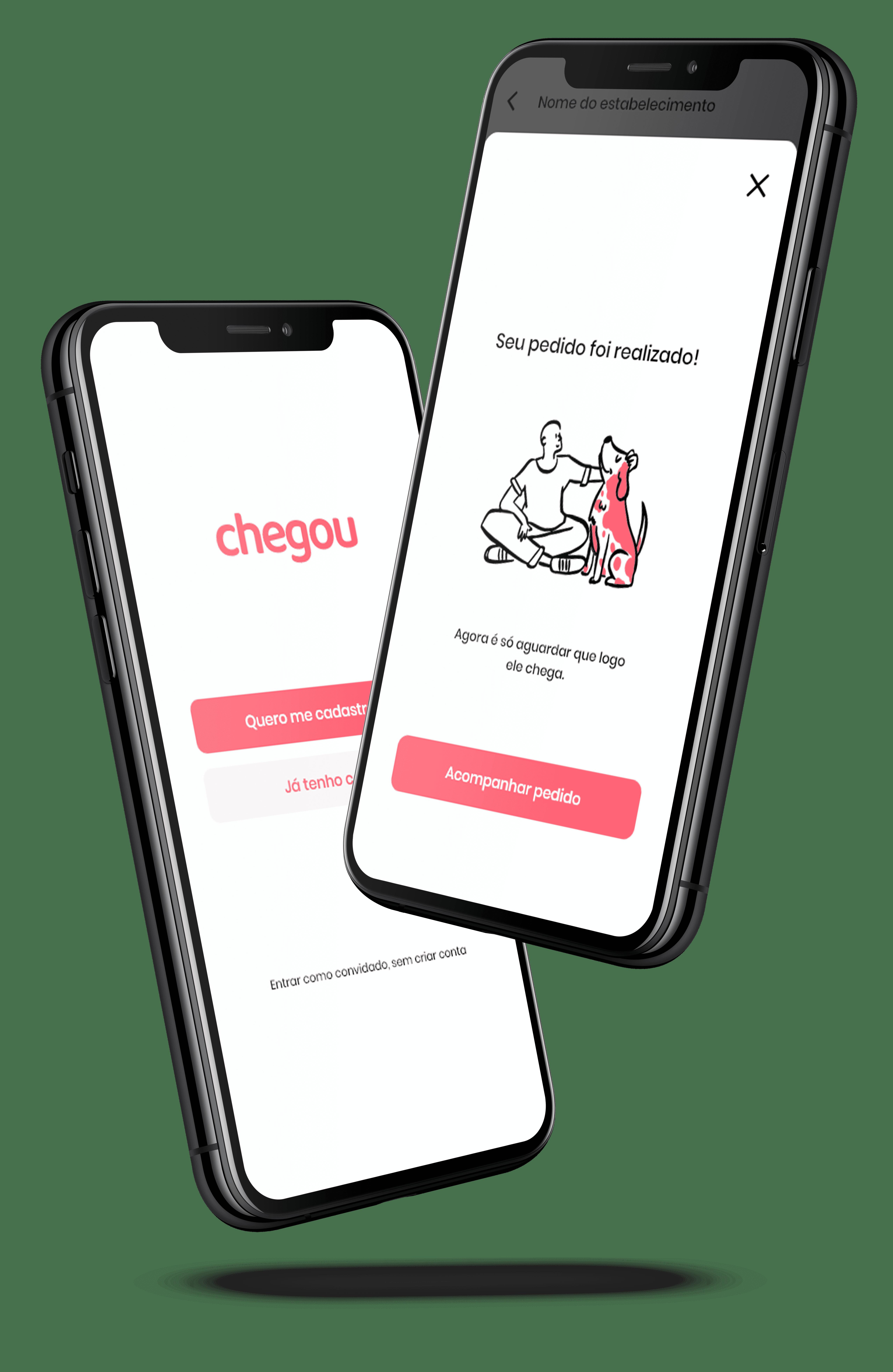 Mockup celulares Chegou